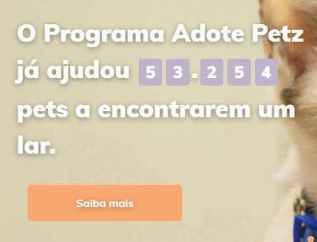 Adote Petz atinge marca de 50 Mil adotados